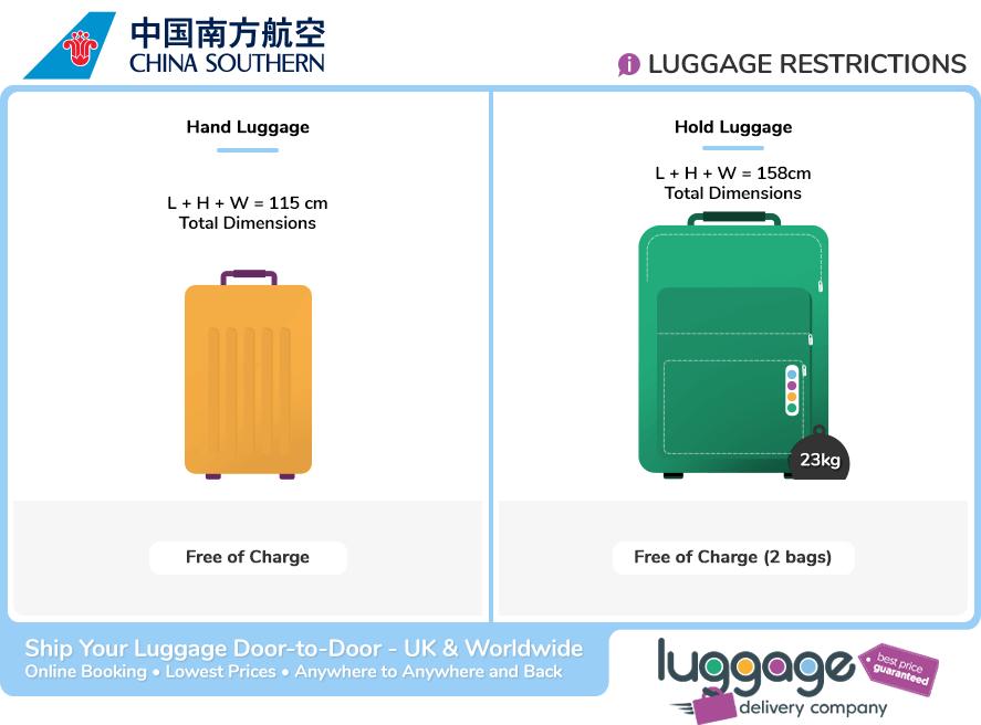 China Southern Baggage Allowance