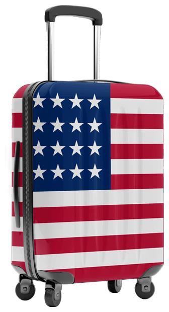 luggage delivery shipping to USA